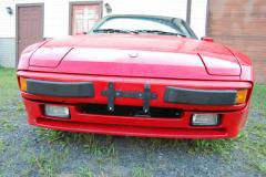 Porsche 944 Red 1987 Front View