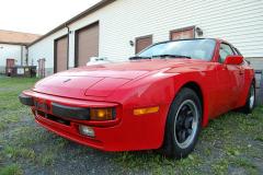 Porsche 944 Red 1987