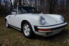 Porsche 911 Cab White 1988