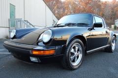 Porsche 911 Targa Black 1989