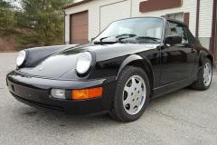 Porsche 911 Convertible Black 1991