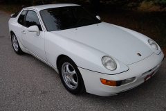 Porsche 968 Coupe White 1993
