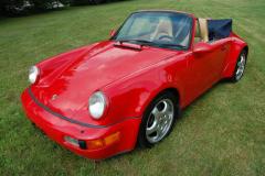 Porsche America Roadster Red 1993