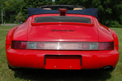Porsche America Roadster Red 1993 Rear View