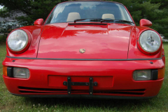 Porsche America Roadster Red 1993 Front View