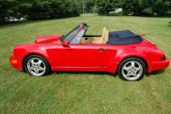 Porsche America Roadster Red 1993 Driver Side View