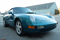 Porsche 993 Coupe Green 1996