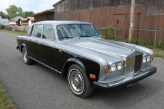 Rolls Royce Silver Shadow Silver Black 1975