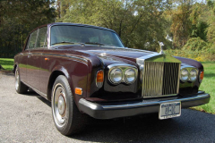 Rolls Royce Silver Shadow Burgundy 1980