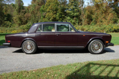 Rolls Royce Silver Shadow Burgundy 1980 Passenger Side View