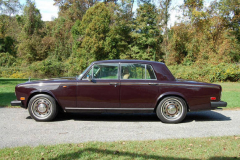 Rolls Royce Silver Shadow Burgundy 1980 Driver Side View