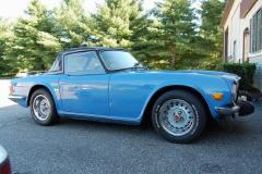 Triumph TR6 Blue 1975