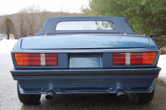 TVR 280i Blue 1985 Rear View