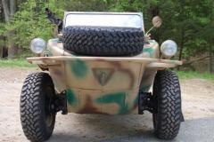 Volkswagon Schwimmwagen Camo 1943 Front View