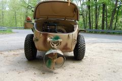 Volkswagon Schwimmwagen Camo 1943 Rear View